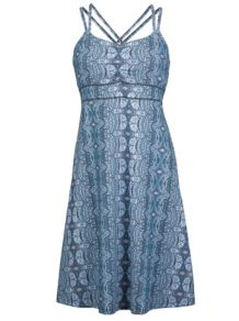 Wm's Taryn Dress, Dark Steel Tapestry, medium