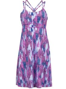 Wm's Taryn Dress, Fuchsia Leaf, medium
