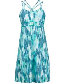 Wm's Taryn Dress, Gem Green Leaf, medium