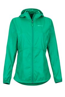 Women's Trail Wind Hoody, Verde, medium