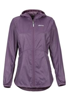 Women's Trail Wind Hoody, Vintage Violet, medium
