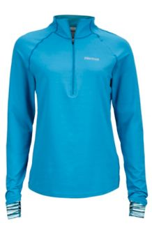 Wm's Excel 1/2 Zip, Slate Blue/Celtic Sprint, medium