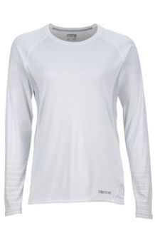 Wm's Crystal LS, White, medium