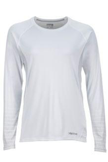 Wm's Crystal LS, White, medium