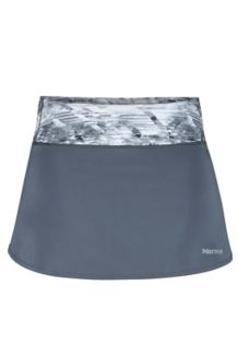 Wm's Pace Skort, Steel Onyx/Steel Onyx Jet Stream, medium
