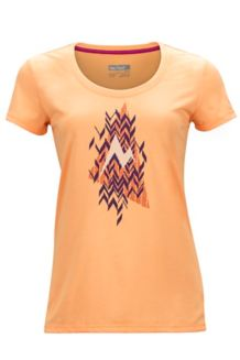 Wm's Post Time Tee, Orangesicle, medium