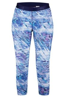 Wm's Pump Up Capri, Deep Dusk Jet Stream, medium