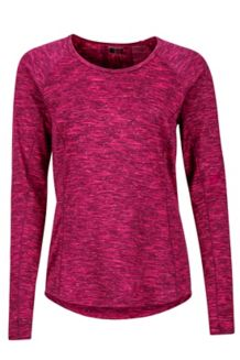 Wm's Sylvie LS, Bright Fuchsia, medium