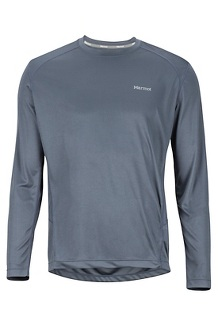 Men's Windridge Long-Sleeve Shirt, Steel Onyx, medium