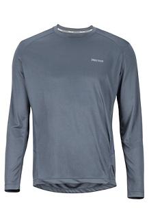 Men's Windridge Long-Sleeve Shirt, Steel Onyx, medium