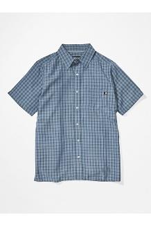 Men's Eldridge Short-Sleeve Shirt, Steel Onyx, medium
