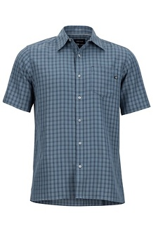 Eldridge SS Shirt, Steel Onyx, medium