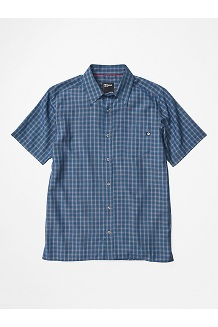 Men's Eldridge Short-Sleeve Shirt, Arctic Navy, medium