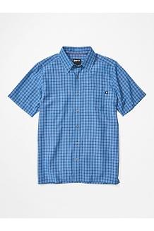 Men's Eldridge Short-Sleeve Shirt, Varsity Blue, medium