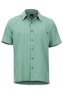 Eldridge SS Shirt, Pond Green, medium