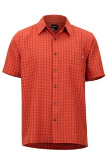 Eldridge SS Shirt, Mandarin Orange, medium