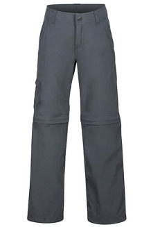 Boys' Cruz Convertible Pants, Slate Grey, medium