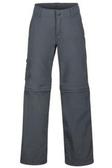 Boys' Cruz Convertible Pants, Slate Grey, medium