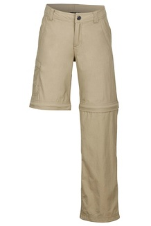 Boys' Cruz Convertible Pants, Desert Khaki, medium