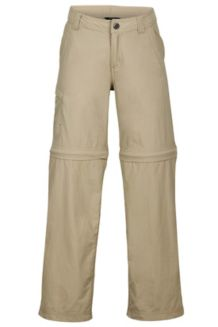 Boys' Cruz Convertible Pants, Desert Khaki, medium