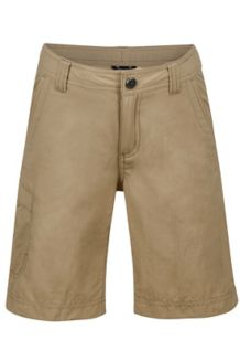 Boy's Cruz Short, Desert Khaki, medium