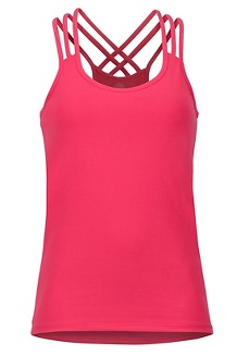 Women's Vogue Tank, Disco Pink, medium