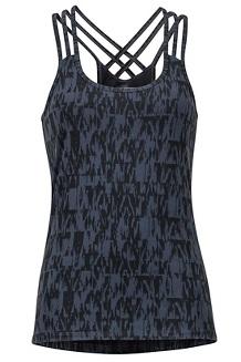 Women's Vogue Tank, Dark Steel Wallflower, medium