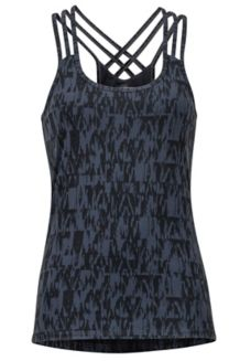 Women's Vogue Tank, Dark Steel Wallflower, medium