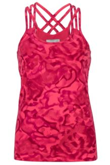 Wm's Vogue Tank, Hibiscus Ripple, medium