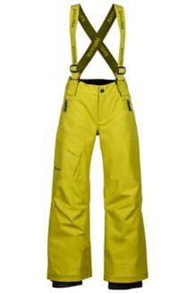 Boy's Edge Insulated Pant, Citronelle, medium