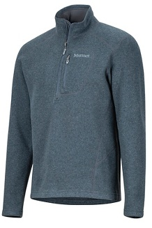 Men's Drop Line 1/2-Zip, Steel Onyx, medium
