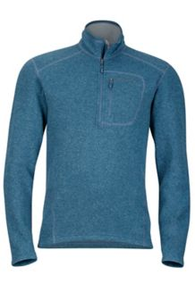 Drop Line 1/2 Zip, Storm Cloud, medium