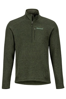 Men's Drop Line 1/2-Zip, Rosin Green, medium