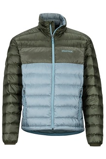 Men's Ares Jacket, Blue Granite/Rosin Green, medium