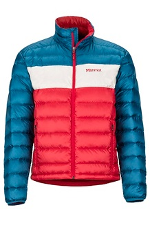 Men's Ares Jacket, Team Red/Moroccan Blue, medium