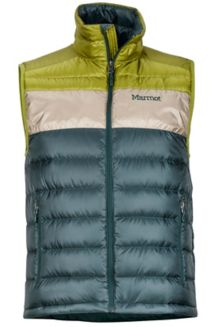 Ares Vest, Dark Spruce/Cilantro, medium