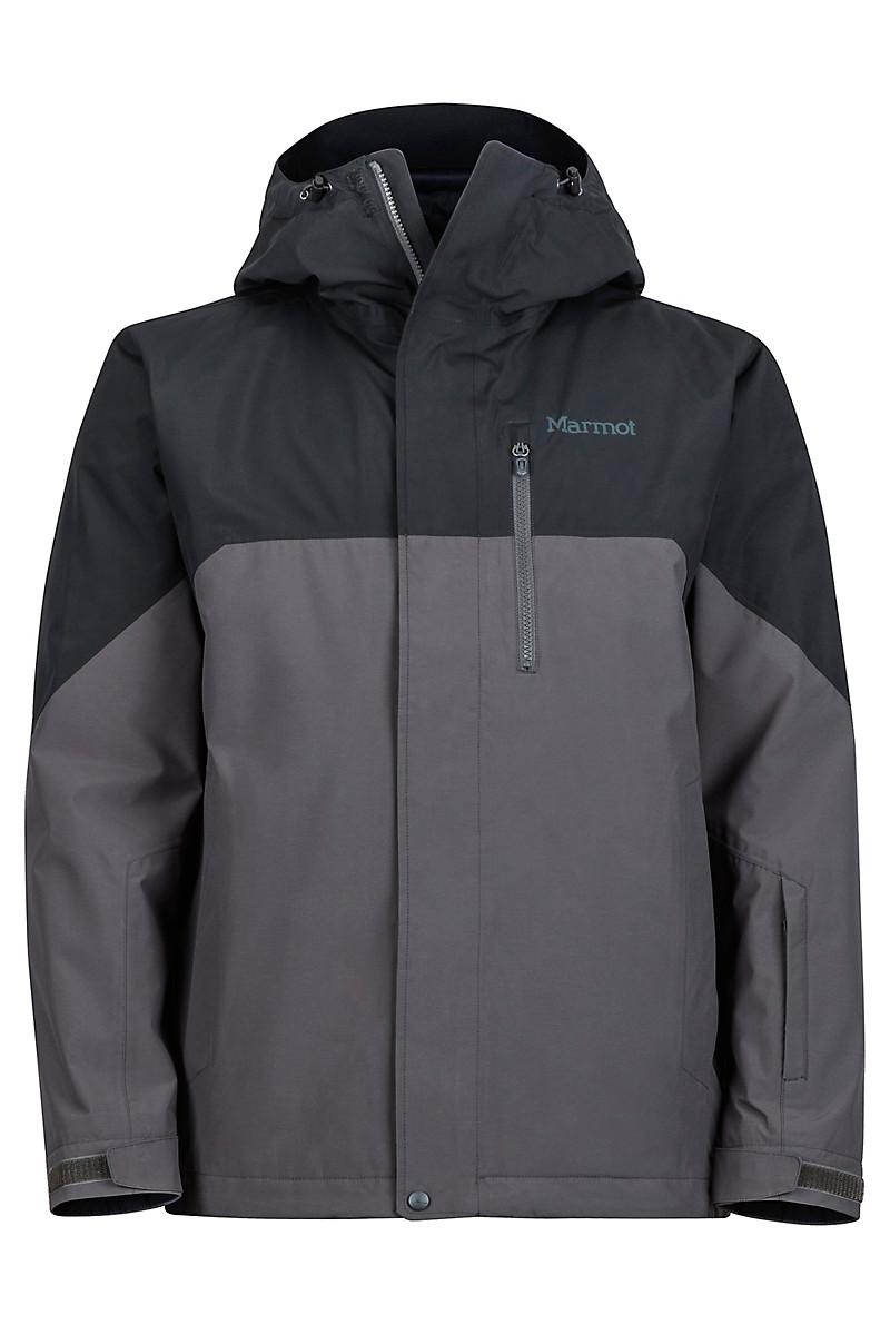 Sidecut Jacket, Black/Slate Grey, large