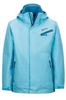 Boy's Freerider Jacket, Bluefish, medium