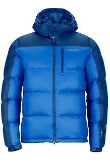 Men's Guides Down Hoody, Cobalt Blue/Blue Night, medium