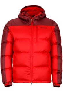 Guides Down Hoody, Team Red/Port, medium