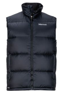 Guides Down Vest, Black, medium