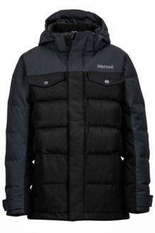 Boy's Fordham Jacket, Black, medium