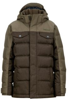 Boy's Fordham Jacket, Deep Olive, medium