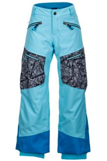 Boy's Freerider Pant, Bluefish/Black Shred, medium