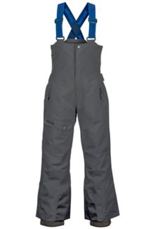Boy's Rosco Bib, Slate Grey, medium