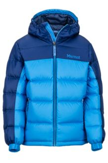 Boy's Guides Down Hoody, Lakeside/Nightfall, medium