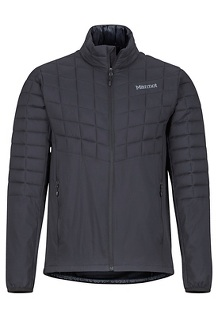Men's Featherless Hybrid Jacket, Black, medium