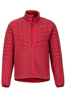 Featherless Hybrid Jacket, Brick, medium