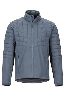 Men's Featherless Hybrid Jacket, Steel Onyx, medium