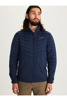 Men's Featherless Hybrid Jacket, Arctic Navy, medium